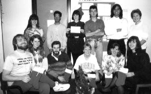 1990 Holiday Lab Photo