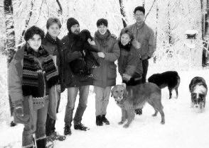 1992 Holiday Lab Photo
