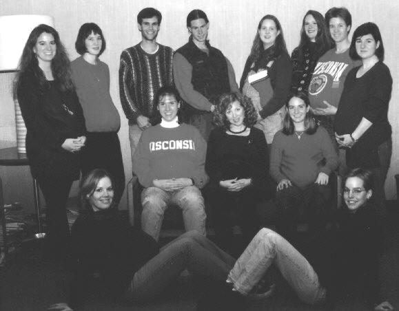 1995 Holiday Lab Photo