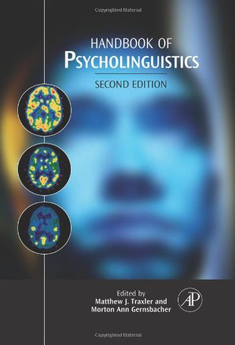 handbook of psycholinguistics 1994