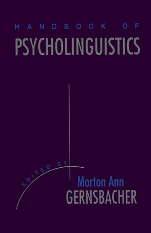 psycholinguistics research paper Open access academic research from top universities on the subject of  psycholinguistics and neurolinguistics.
